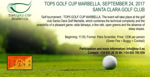 Torneo TOP5 Golf Cup Marbella