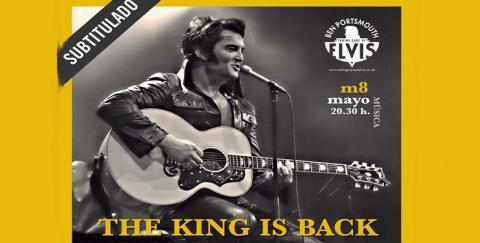 Tributo a Elvis 'The King Is Back'. Teatro Cervantes