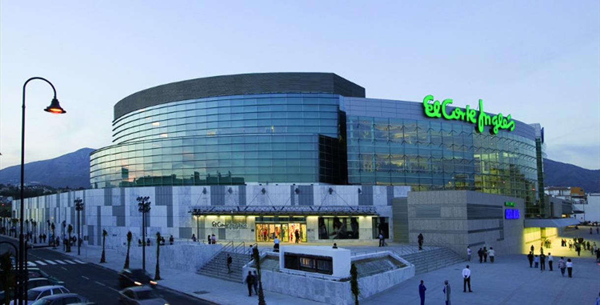 Shopping centres costa del sol m laga for Cacerolas el corte ingles