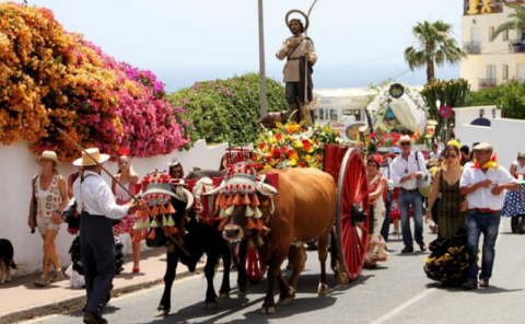 Saint Isidore - Celebrations in Nerja