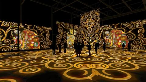 El oro de Klimt. Immersive exhibition