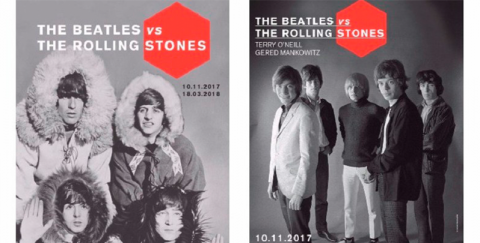 Exposición 'The Beatles vs. The Rolling Stones'