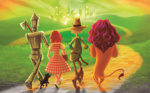 El Mago de Oz y la bruja verde (The Wizard of Oz)