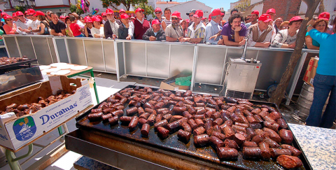 Blood Sausage Day in Canillas
