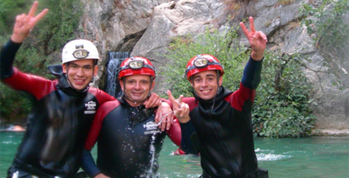 Caving in the Cueva del Gato