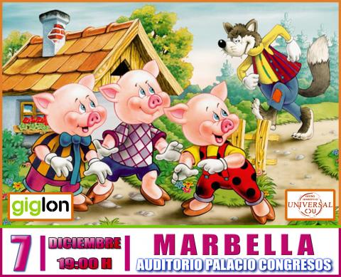 The Three Little Pigs, the musical