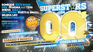 Concierto Superstars 00s Costa del Sol