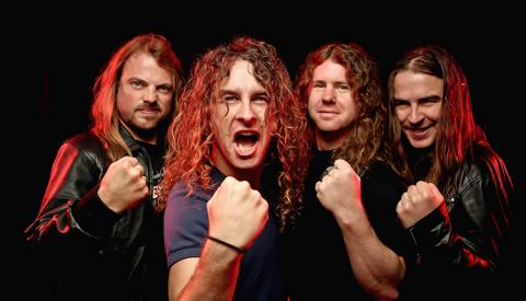 Airbourne in Concert