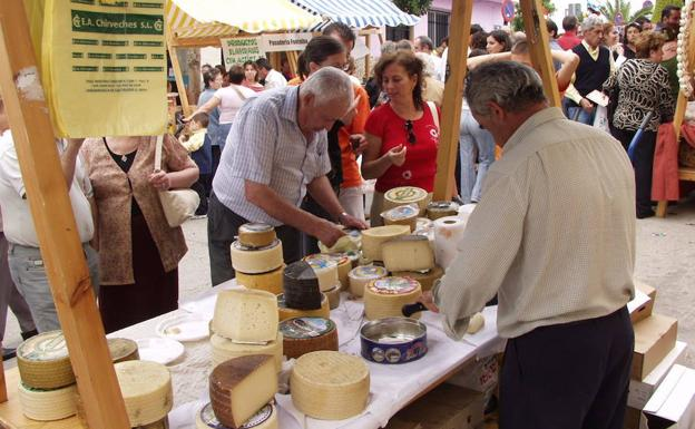 18th Artisan Cheese Market Fair in Teba
