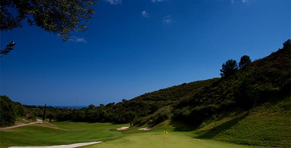 Marbella Golf & Country Club. 9 hoyos